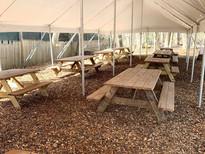 custom made picnic tables