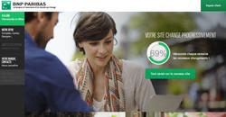 Bnp Paribas - Nouveau site web