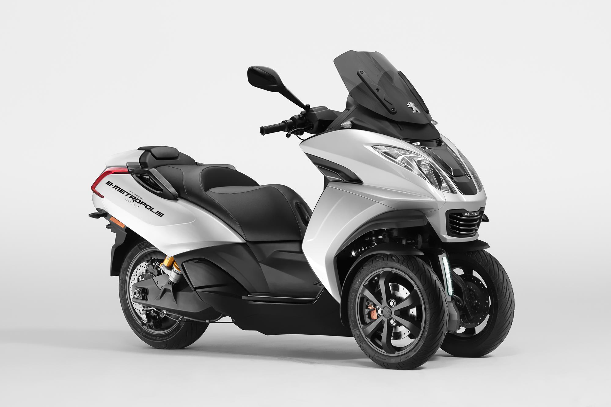 Peugeot Motocycles e-Metropolis