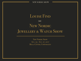 Join us at New Nordic Jewellery and Watch Show at Bella Center