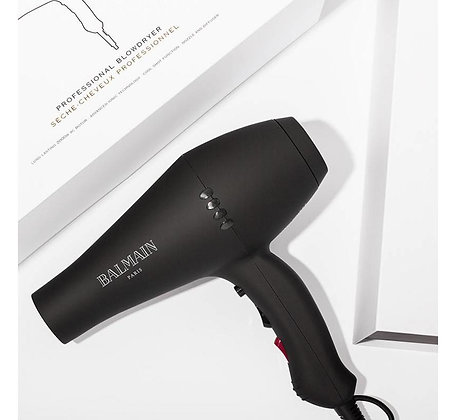 PROFESSIONAL BLOWDRYER BLACK EU PLUG