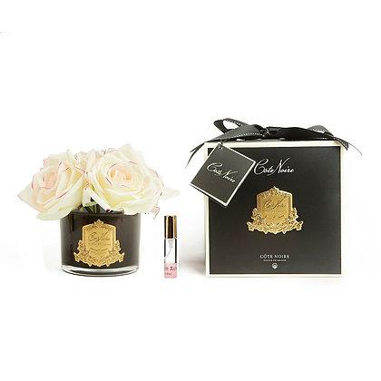 Côte Noire Pink Blush Roses Diffuser Black Edition