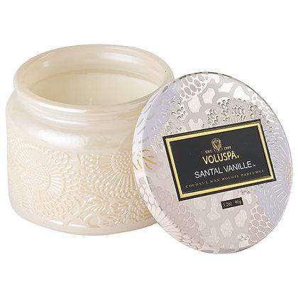 Santal Vanille Petite Jar Candle