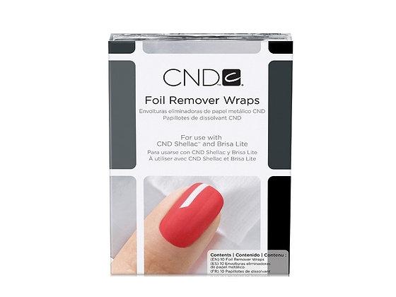 CND Remover Wraps 10 pk