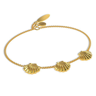 GOLDEN SHELL BRACELET