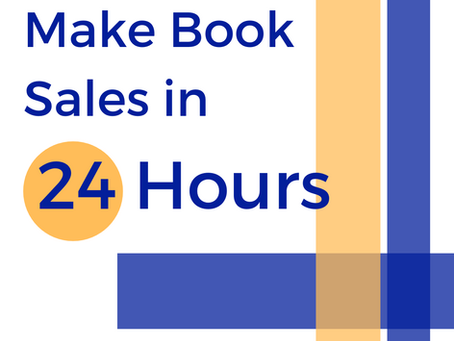 Make Book Sales in 24 Hours