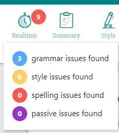 Autocrit instant summary