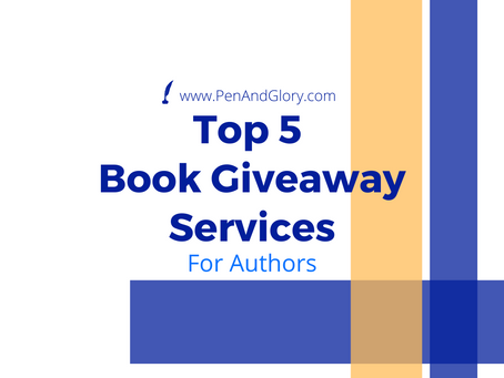 Top 5 Book Giveaway Services for Authors