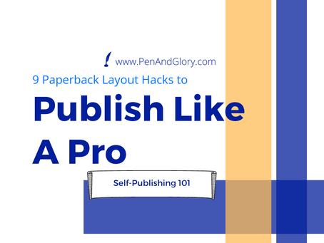 9 Paperback Layout Hacks to Publish Like a Pro