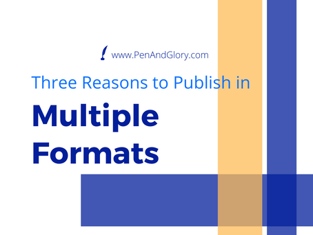 Three Reasons to Publish Your Book in Multiple Formats