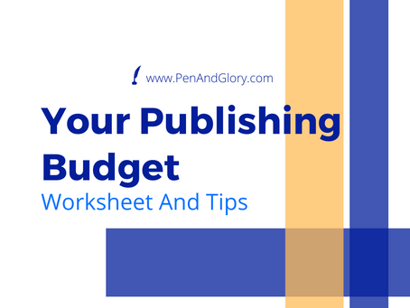 Your Publishing Budget: Worksheet and Tips