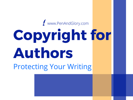 Copyright for Authors: Protecting Your Writing