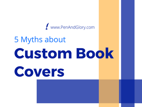 5 Myths about Custom Book Covers
