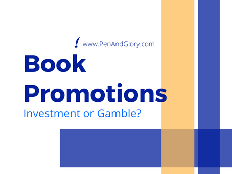 Book Promotions: Investment or Gamble?