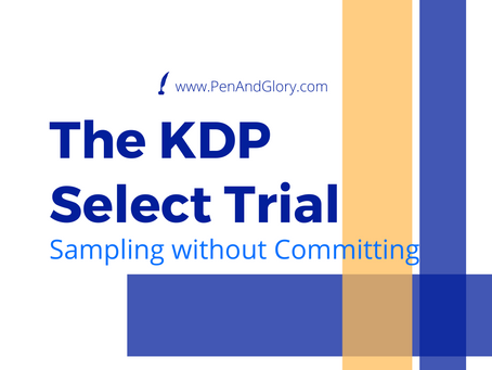 The KDP Select Trial: Sampling KDP Select without A Long-Term Commitment