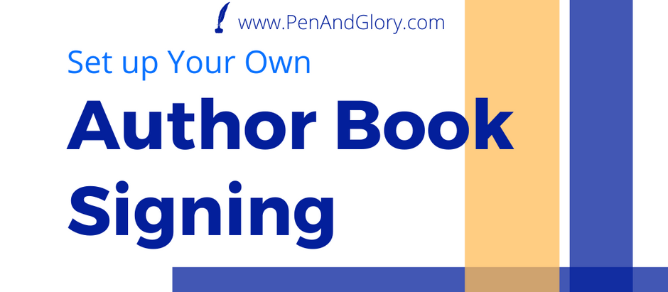 Set up Your Own Author Book Signing