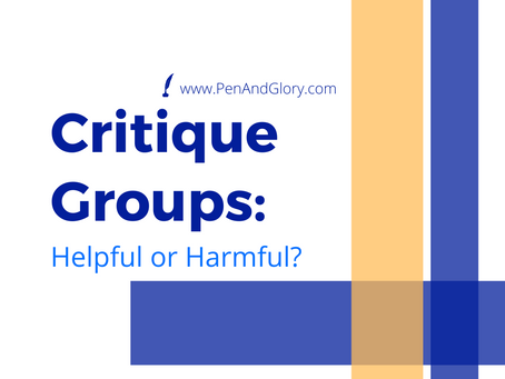 Critique Groups: Helpful or Harmful?