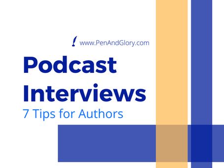 Podcast Interviews: 7 Tips for Authors