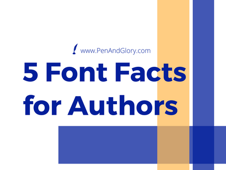 5 Font Facts for Authors