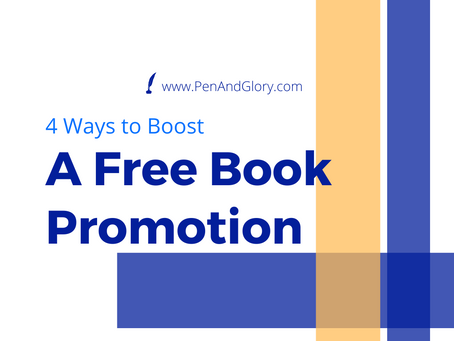 4 Ways to Boost A Free Book Promotion