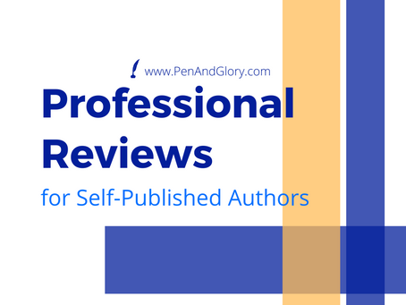 Professional Reviews for Self-Published Authors