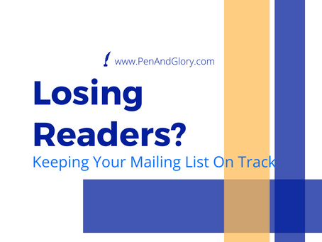 Losing Readers? Keep Your Mailing List on Track