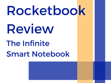 Rocketbook Review: The Infinite Smart Notebook