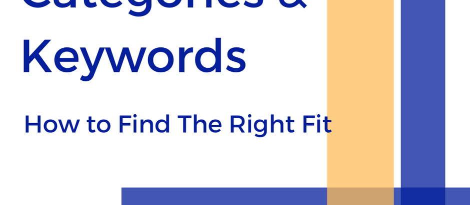 Book Categories and Keywords: How to Find The Right Fit