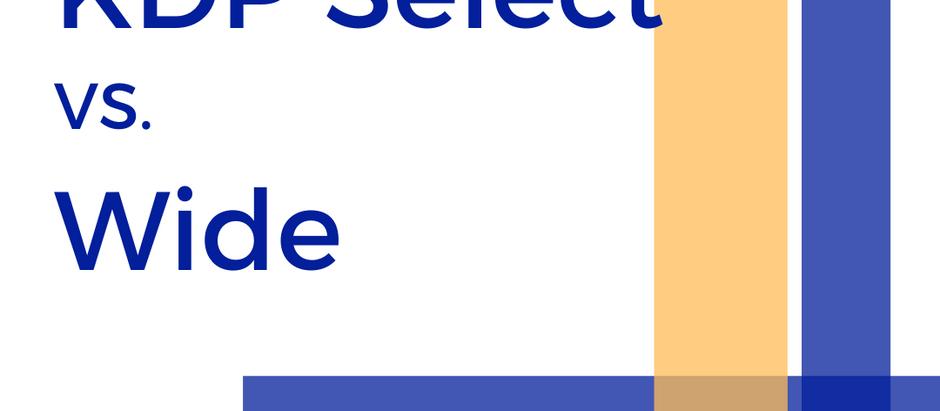 KDP Select Vs. Wide