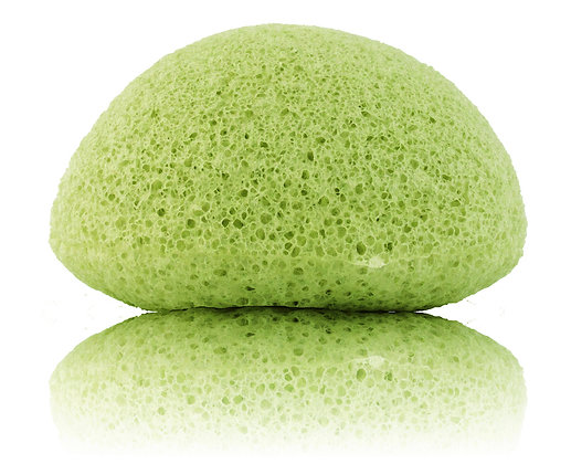 Green Tea Infused Konjac Sponge