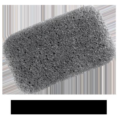 Charcoal Body Sponge | Detoxifying