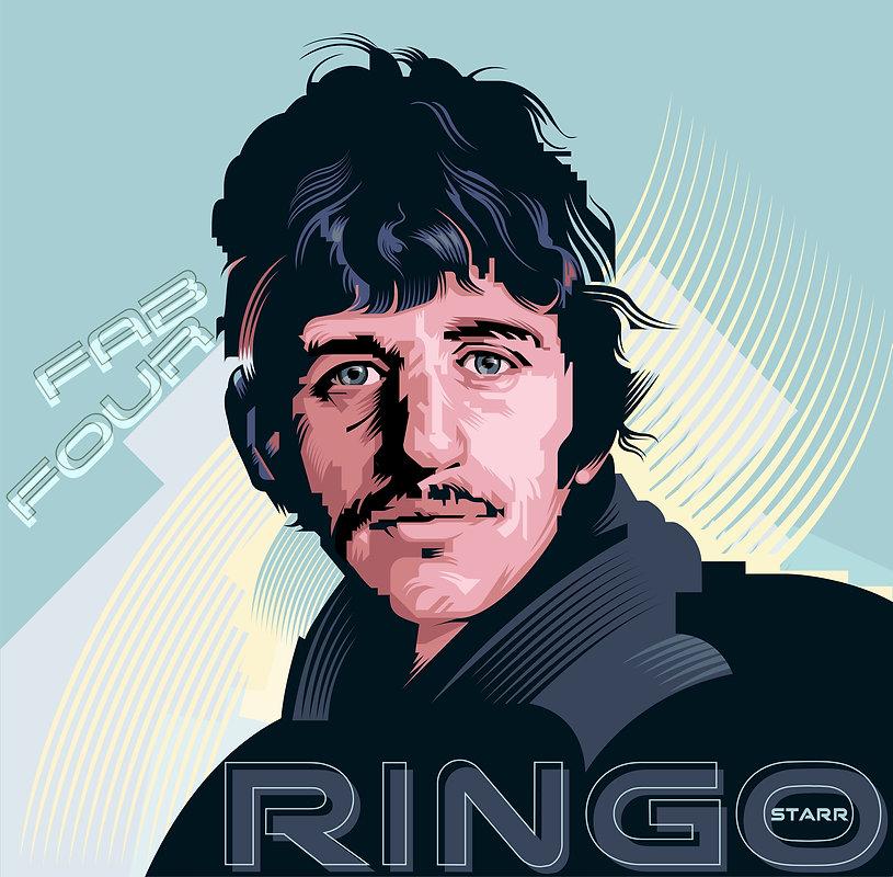 RINGO STAR Album Cover Design