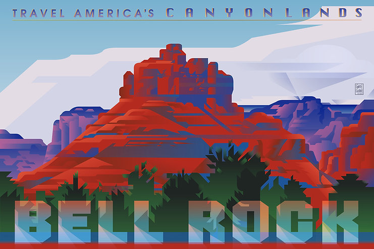 CANYONLANDS Bell Rock