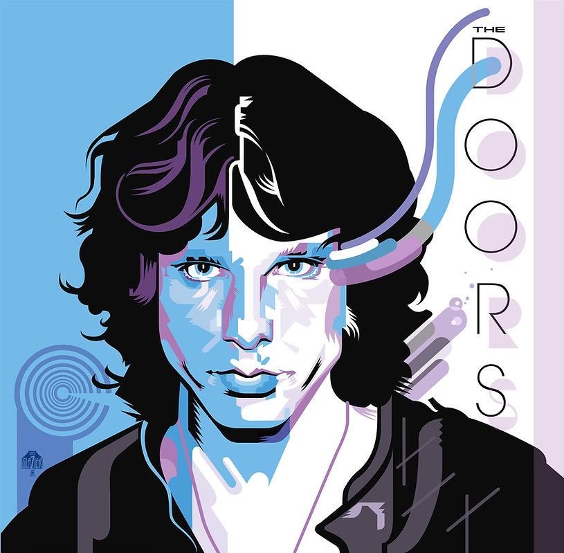 THE DOORS Album Cover Design
