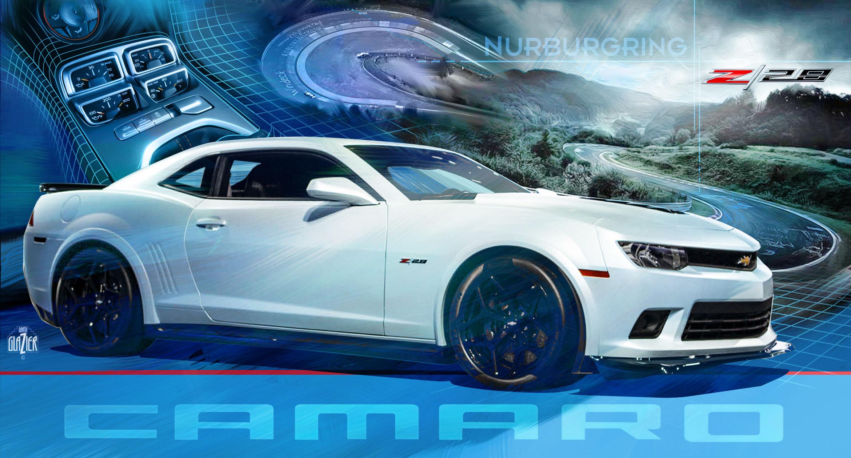 Concept 5 Camaro ZL1-Hot Wheels