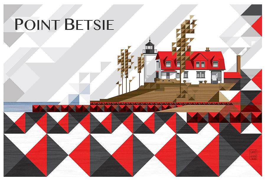 garth glazier Point Betsie Lighthouse in