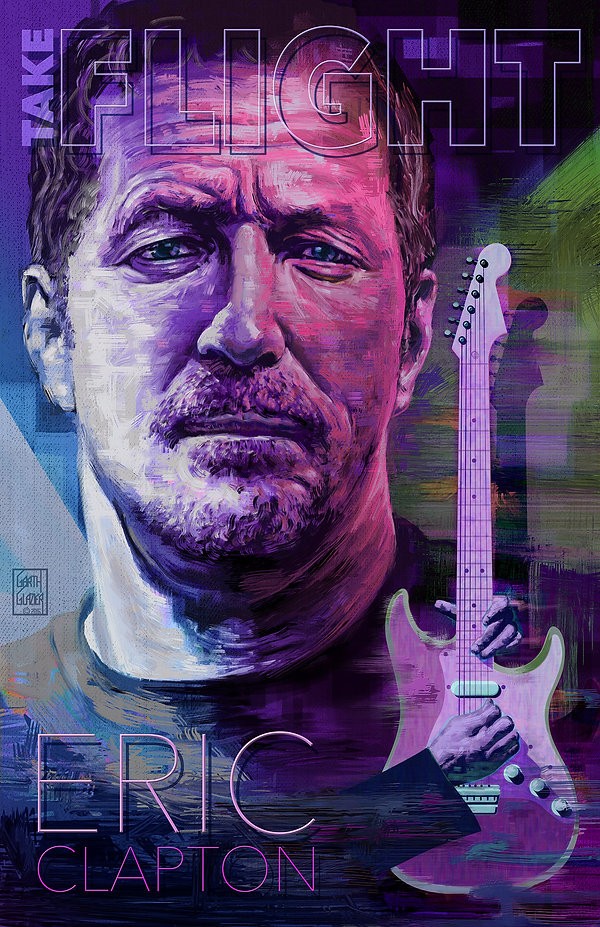 ERIC CLAPTON: Take Flight Concept