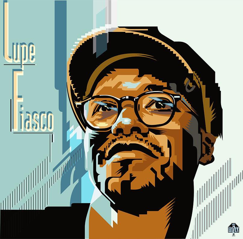 LUPE FIASCO Album Cover Design