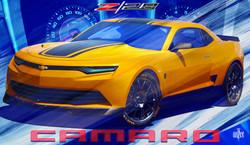 Concept 3 Camaro-Z28 Bumblebee