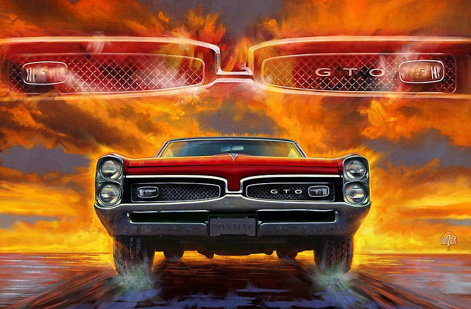 1967 Pontiac Tempest Lemans GTO