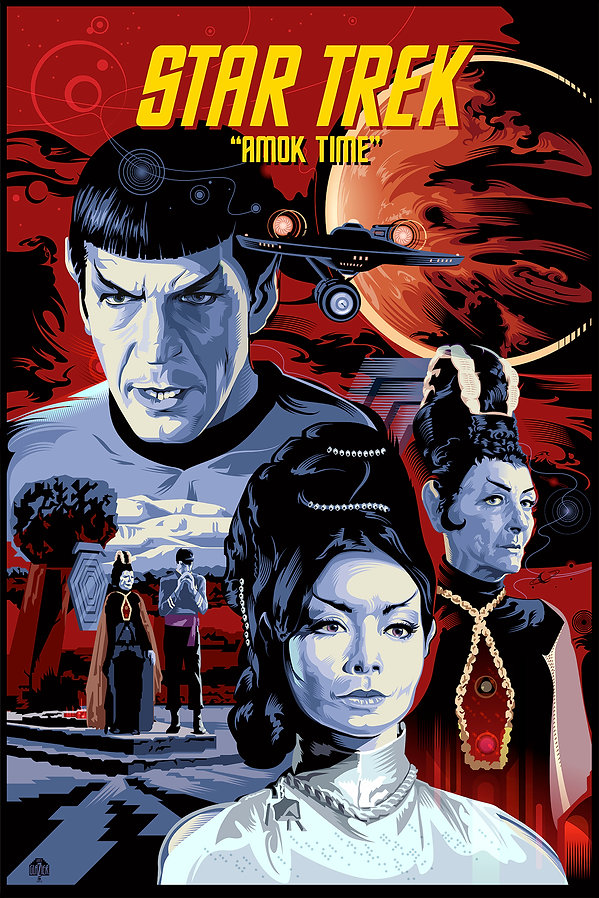 "STAR TREK ""Amok Time"""