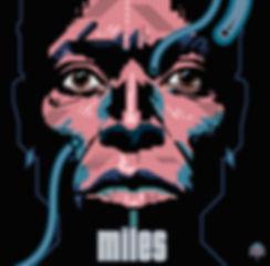 MILES DAVIS Album Cover Design