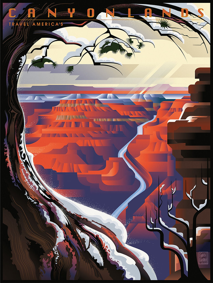 CANTONLANDS Grand Canyon Winter