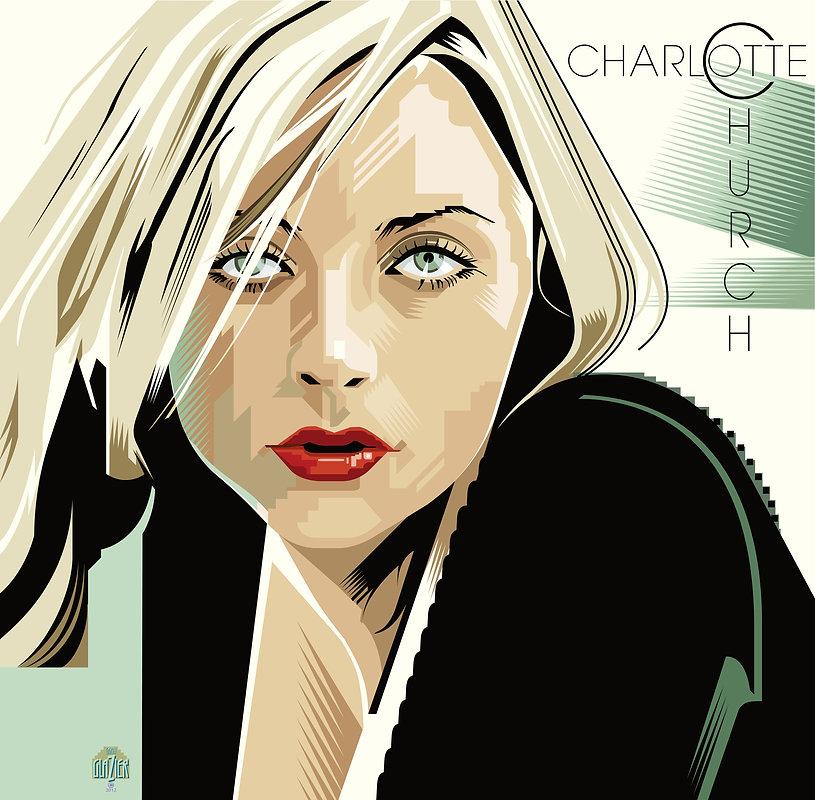 CHARLOTTE CHURCH Album Cover Design