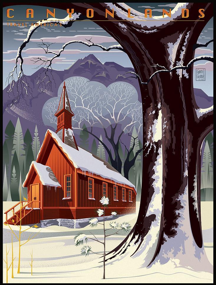 CANYONLANDS Yosemite Chapel