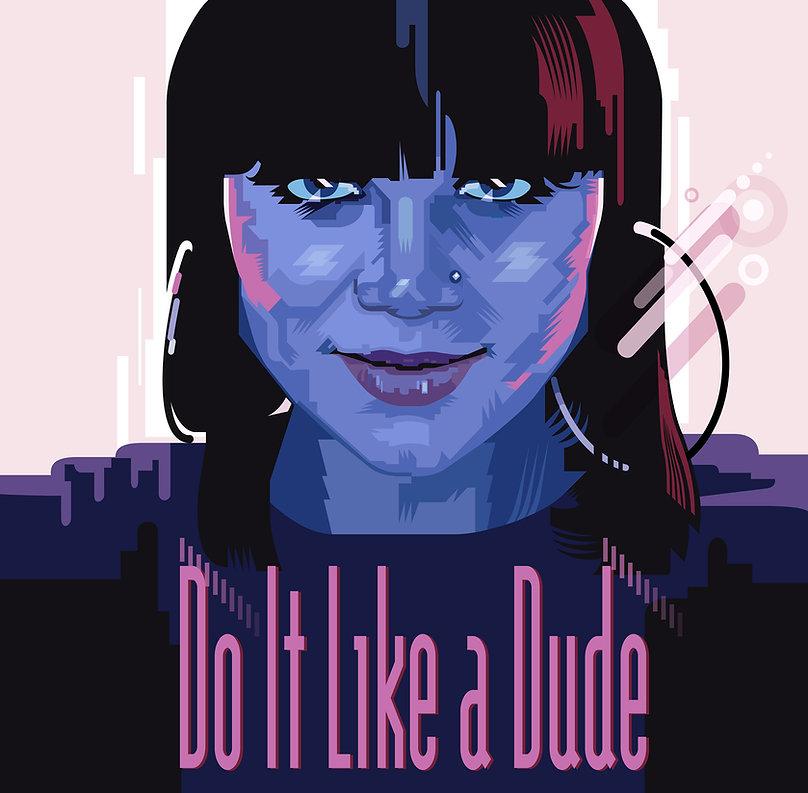 """DO IT LIKE A DUDE"" Jessi J. Album Cover Design"