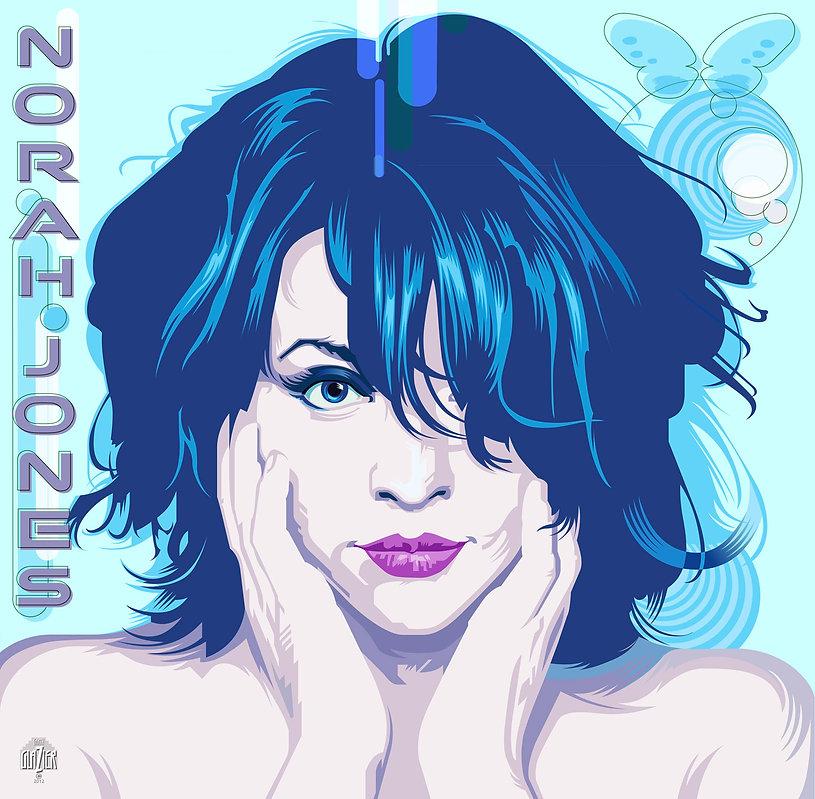NORAH JOHNS Album Cover Design
