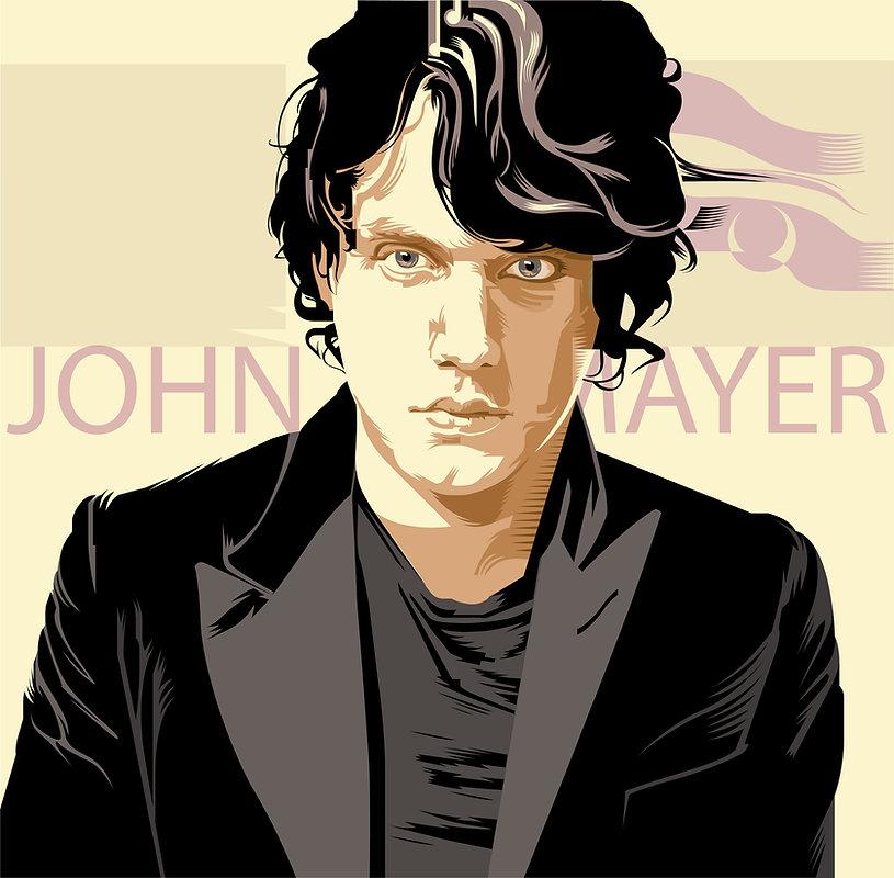 JOHN MAYER Album Cover Design