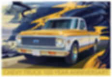 1971 CHEVROLET C10 CHEYENNE FLEETSIDE 2W