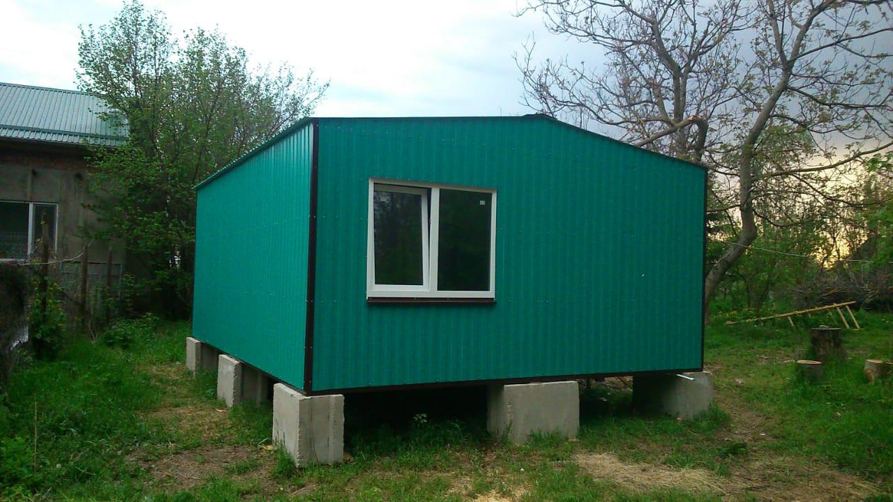 бытовка, каркасный дом